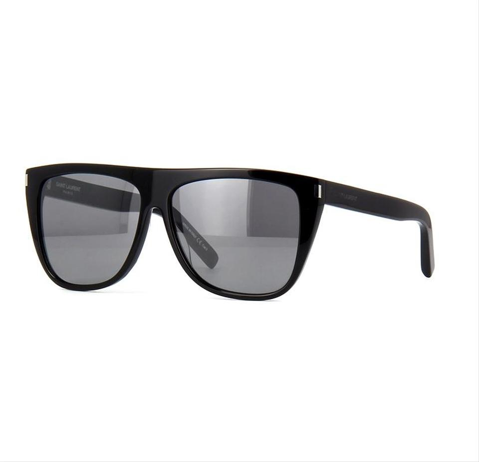 9c230951ad8 Saint Laurent Saint Laurent SL1 Black Grey 001 (Kim Kardashian) Image 0 ...