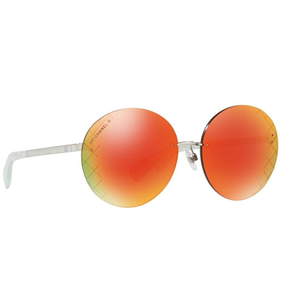 73c0726d2c9 Chanel Chanel 4216 Round Airline Sunglasses Image 0 ...