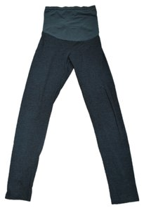 A Pea In The Pod Charcoal Gray Maternity Leggings