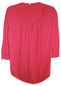 Old Navy Maternity Scoop Neck Pleat-Front Tee
