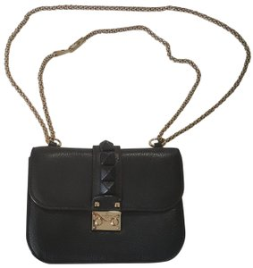 Valentino Lock Small Crossbody Shoulder Bag