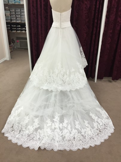 Enzoani Ivory Lace / Tulle Dalby Formal Dress Size 12 (L)