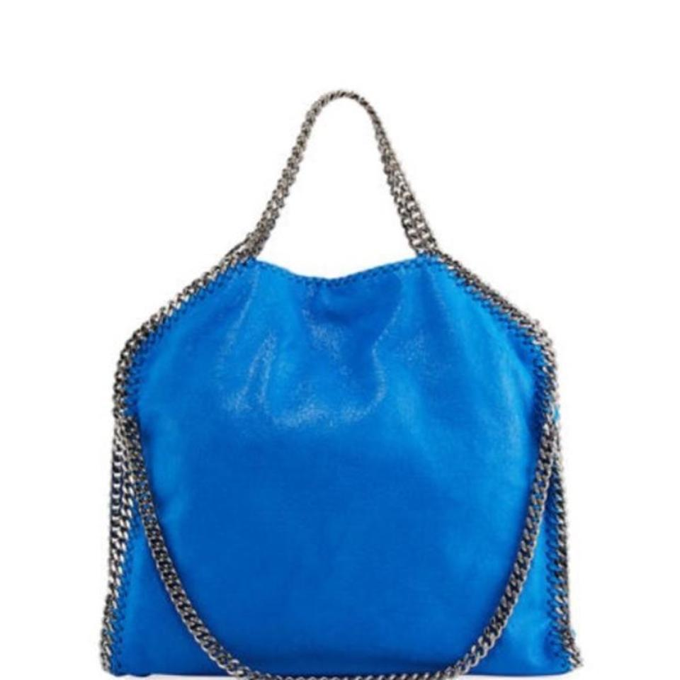 7b60d88ebcb8 Stella McCartney Falabella Bright Blue Vegan Shoulder Bag - Tradesy