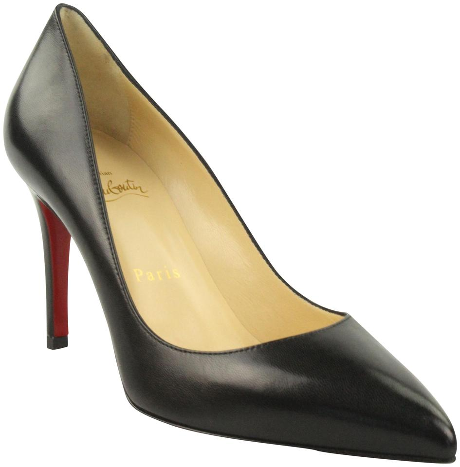 buy online 55f33 cf0a1 Christian Louboutin Black Pigalle 85mm Nappa Shinny Pumps Size EU 37.5  (Approx. US 7.5) Regular (M, B) 22% off retail