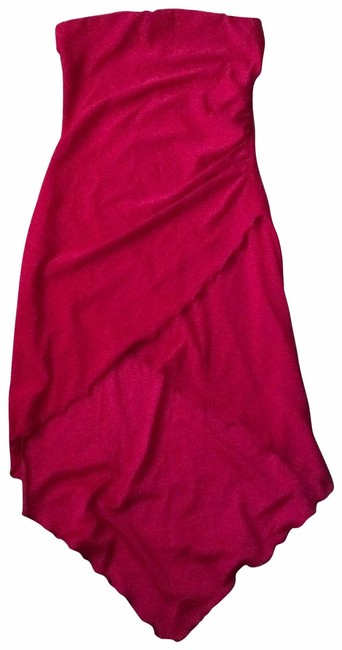 Item - Red Mid-length Night Out Dress Size 4 (S)