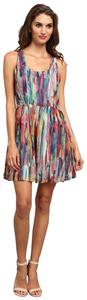 BB Dakota short dress multi Multicolor Rainbow Cutout Summer on Tradesy