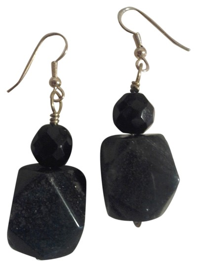 Preload https://item2.tradesy.com/images/handmade-new-handmade-dark-green-aventurine-faceted-gemstone-chunky-earrings-buy3get1free-sale-2249326-0-0.jpg?width=440&height=440