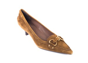 The Original Car Shoe Tobacco Pumps