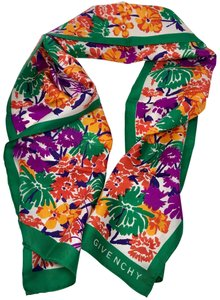 Givenchy Floral Scarf