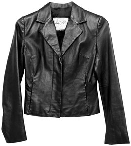 North Beach Leather black Leather Jacket