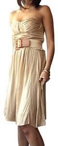 3.1 Phillip Lim short dress Tan Summer Hamptons on Tradesy