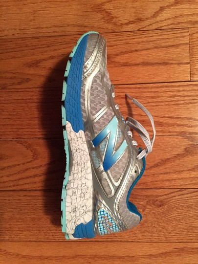 New Balance Silver With Sea Spray And Wave Athletic