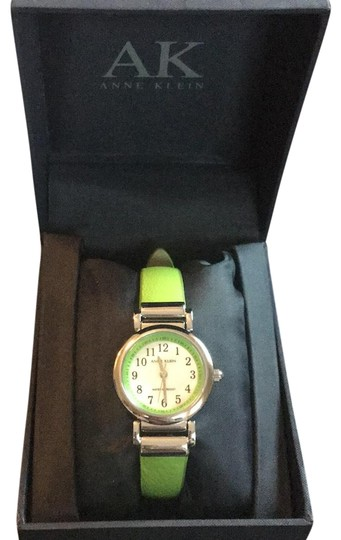 Preload https://item4.tradesy.com/images/anne-klein-green-like-with-silver-accents-watch-22494723-0-1.jpg?width=440&height=440