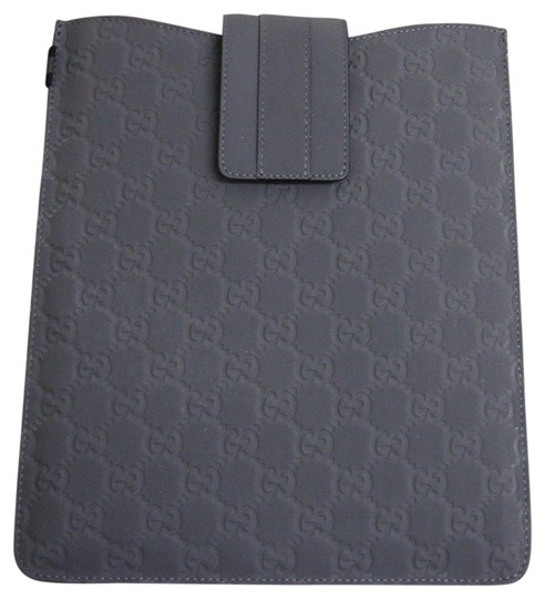 Preload https://img-static.tradesy.com/item/22494758/gucci-gray-new-gg-monogram-guccissima-leather-ipad-case-256575-1370-tech-accessory-0-2-540-540.jpg