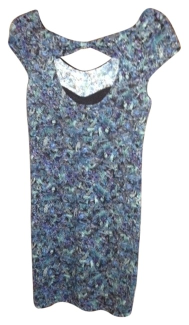 Free People short dress different colors, blues,greens Mini on Tradesy