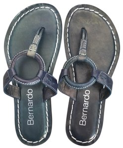 Bernardo Blue Sandals