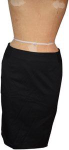 New York & Company Pencil A-line Business Skirt Black