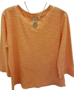 Hot Cotton 3/4 Sleeve Casual Tunic