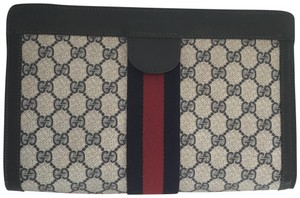 Gucci Vintage Pouch Navy Clutch