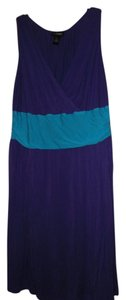 Lane Bryant short dress purple on Tradesy