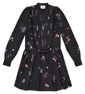 ERDEM x H&M short dress Black on Tradesy