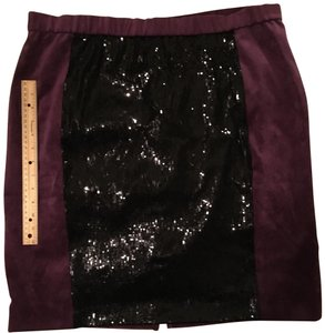 Mark Zunino Skirt Plum