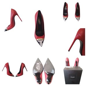 Saint Laurent Red Pumps