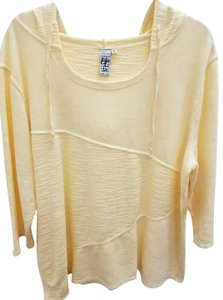 Hot Cotton Hooded Textured Longsleeve Casual Sweater