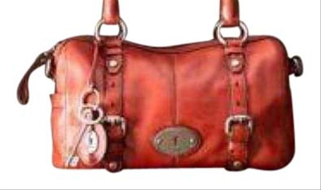 Item - Small Maddox Red Leather Satchel