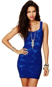 Free People Gno Club Evening Formal Spandex Dress