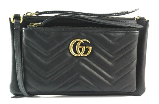 Preload https://item3.tradesy.com/images/gucci-marmont-shoulder-with-pouch-black-calfskin-leather-cross-body-bag-22497662-0-2.jpg?width=440&height=440