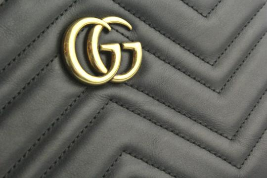Gucci Marmont Marmont Chevron Cross Body Bag