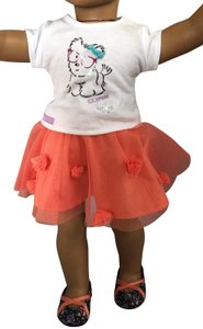 American Girl American girl coconut cutie 3 piece outfit NO doll -- outfit only