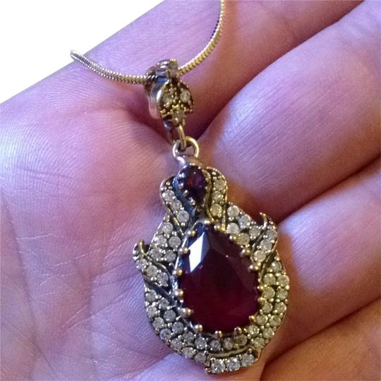 Preload https://item4.tradesy.com/images/red-silver-pendant-necklace-2249783-0-0.jpg?width=440&height=440