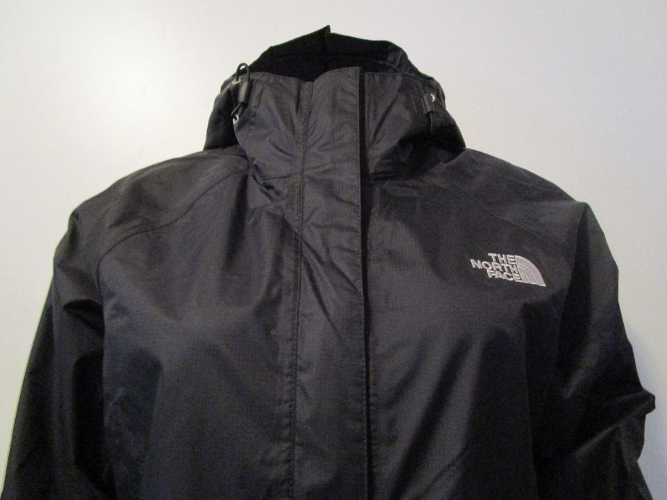 The North Face Black Women s Venture Waterproof Hooded Jacket Size ... 66b341965