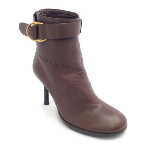 Preload https://item5.tradesy.com/images/chanel-brown-with-brushed-gold-buckle-bootsbooties-size-eu-40-approx-us-10-regular-m-b-22498424-0-1.jpg?width=440&height=440