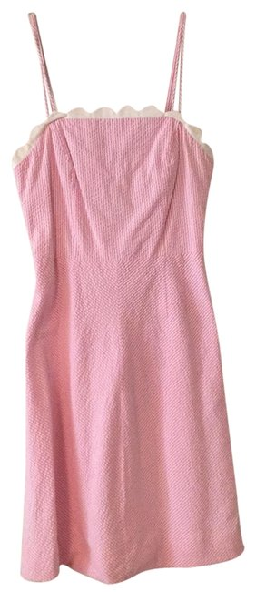 Preload https://img-static.tradesy.com/item/22498475/lilly-pulitzer-pink-and-white-88189-mid-length-short-casual-dress-size-2-xs-0-1-650-650.jpg