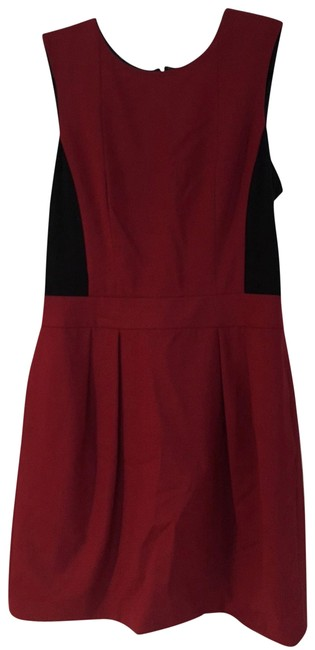 Theory Pleated Color-blocking Dress