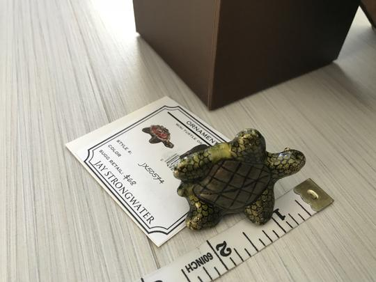 Jay Strongwater Turtle Ornament