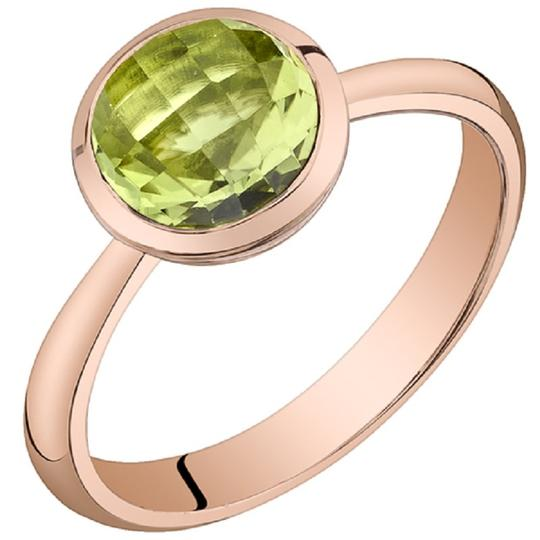 Other Peridot Dome Solitare Ring