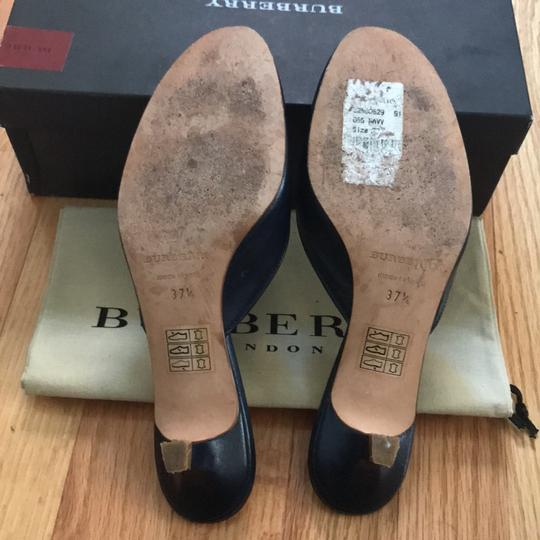 Burberry Navy blue Mules