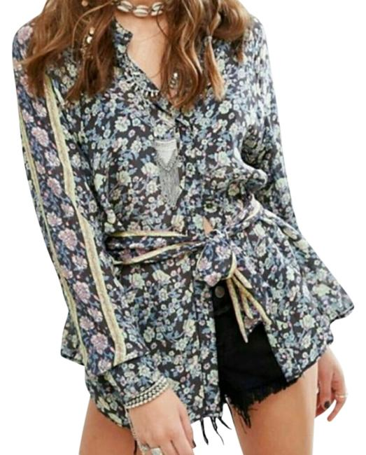 Preload https://img-static.tradesy.com/item/22498609/free-people-black-print-flower-power-blouse-size-2-xs-0-10-650-650.jpg