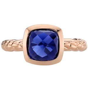 Other Sapphire Woven Solitare RIng