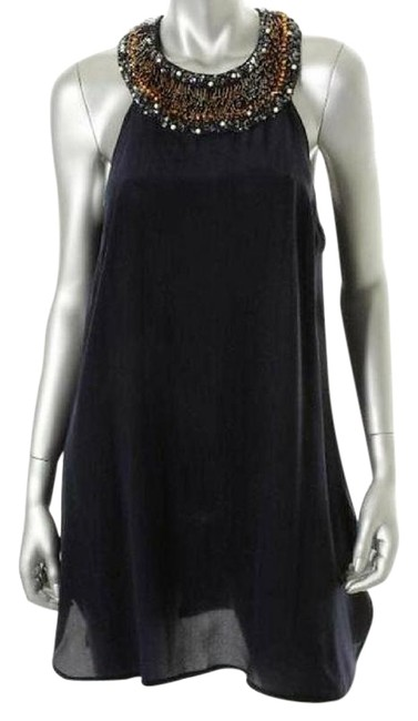 Preload https://item2.tradesy.com/images/french-connection-navy-silk-with-beading-short-cocktail-dress-size-8-m-22498681-0-5.jpg?width=400&height=650