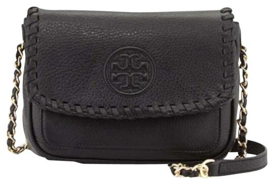 Preload https://item2.tradesy.com/images/tory-burch-marion-mini-balck-leather-cross-body-bag-22498691-0-1.jpg?width=440&height=440