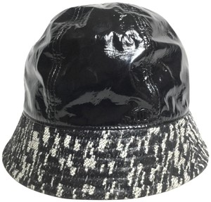 Chanel CHANEL VINYL BUCKET HAT WITH TAG