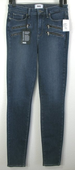 Paige Skinny Jeans-Medium Wash