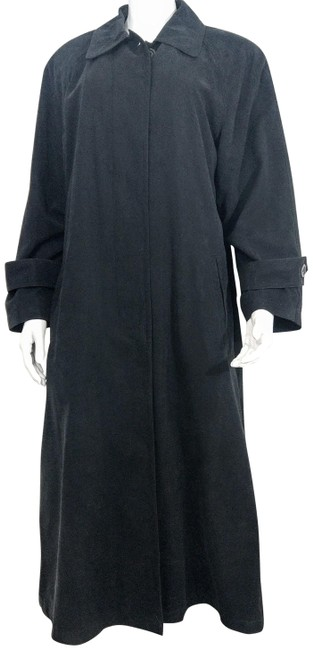Preload https://item1.tradesy.com/images/gallery-soft-black-calf-length-trench-coat-size-6-s-22498765-0-1.jpg?width=400&height=650