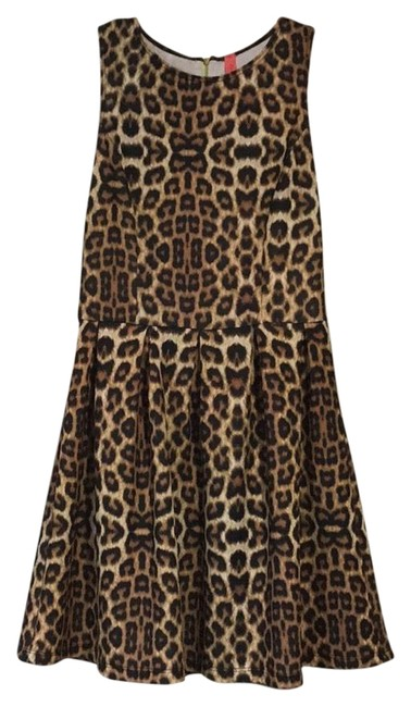 Preload https://item4.tradesy.com/images/eight-sixty-leopard-color-with-lime-green-zipper-short-cocktail-dress-size-4-s-22498843-0-1.jpg?width=400&height=650