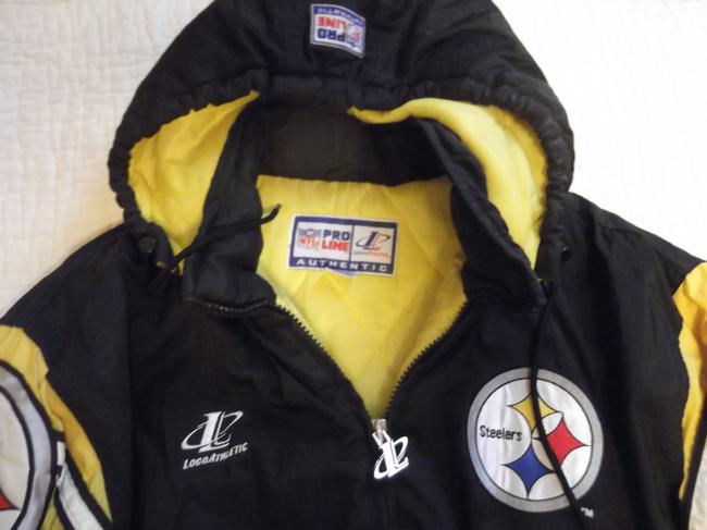 NFL ProLine Logo Athletic Steelers Football Coat